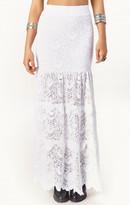 Nightcap Clothing high waist spanish maxi skirt