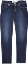 Jacob Cohën Blue Slim-leg Jeans