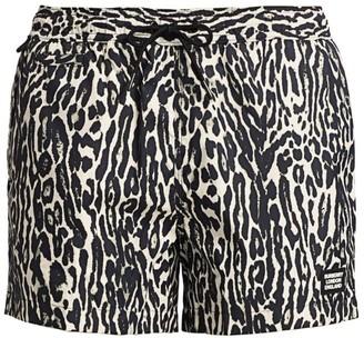 Burberry Greenford Zebra-Print Swim Shorts