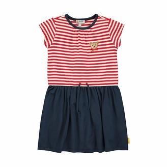 Steiff Girls' mit Streifen und Teddybarmotiv Dress