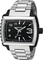 Diesel Men's DZ1367 Silver Stainless-Steel Analog Quartz Watch with Dial