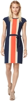 Tommy Hilfiger Vertical Striped Knit Dress