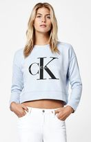 Calvin Klein For PacSun Cropped Crew Neck Sweatshirt