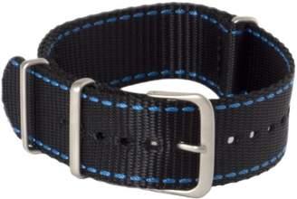 Hadley Roma Hadley-Roma MS4220RF 200 20mm Nylon Black Watch Strap