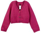 Tea Collection Portenos Pointelle Cardigan Sweater (Baby Girls)