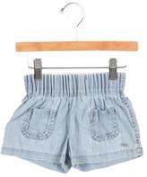 Chloé Girls' Chambray Shorts