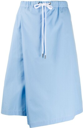 Marni Asymmetric Drawstring Skirt