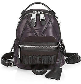 Moschino Women's Quilted Backpack