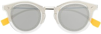 Fendi Eyewear Printed Logo Sunglasses
