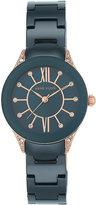 Anne Klein Ladies' Blue Ceramic Bracelet Watch
