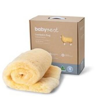 Babyrest Natural Lambskin Rug