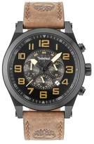 Timberland Tilden Multifunction Leather Strap Watch