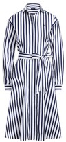 Thumbnail for your product : Ralph Lauren Striped Cotton Shirtdress