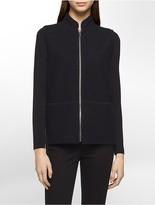 Calvin Klein Wool Blend Zip Vest
