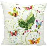 Nourison Fantasy Butterflies Outdoor Pillow
