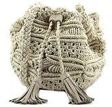 BCBGeneration Woven Drawstring Shoulder Bag