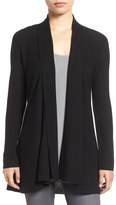 Eileen Fisher Merino Wool Shaped Cardigan (Regular & Petite)