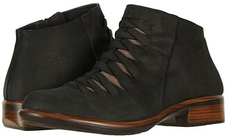 Naot Footwear Leveche (Black Velvet Nubuck/Shiitake Nubuck) Women's Boots