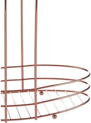 Premier Housewares Copper Plated 3 Tier Storage Rack