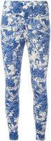 Zucca printed leggings - women - Cotton - M