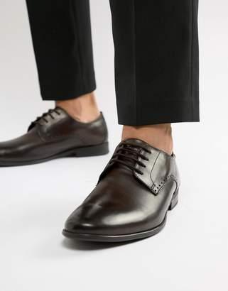 Base London Westbury derby shoes in brown