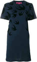McQ swallow T-shirt dress