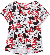 Jerry Leigh Minnie Mouse White & Red Tee - Girls
