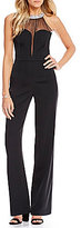 Gianni Bini Jayne Illusion Jumpsuit