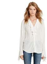 Denim & Supply Ralph Lauren Ruffle-Front Blouse