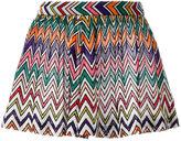 Missoni zig-zag shorts - women - Polyester/Cupro/Viscose - 40