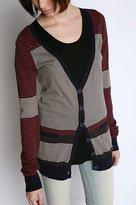 Variegated Stripe Cardigan