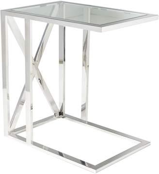 OKA Park Side Table - Metal/Glass