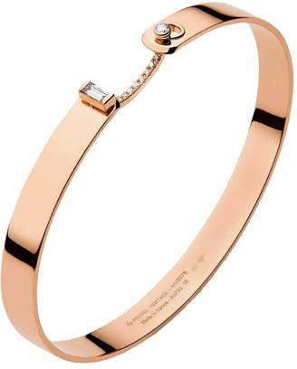Nouvel Heritage 6mm Dinner Date GM Mood Bangle Rose Gold Bracelet