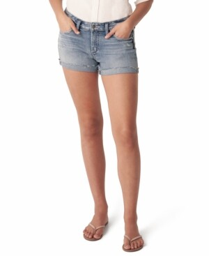 Silver Jeans Co. Denim Boyfriend Shorts
