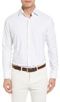 Peter Millar Men's Wilson Polka Dot Regular Fit Sport Shirt