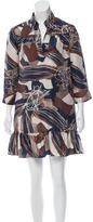 Rachel Zoe Silk Printed Tunic