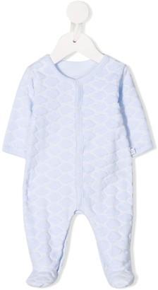 Absorba Textured Cloud-Pattern Pajama