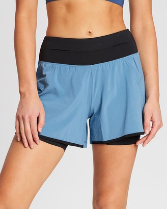 Asics 4 Inch 2-In-1 Woven Short - Women's