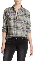 Anine Bing Long Sleeve Plaid Shirt