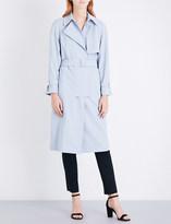Armani Collezioni Belted twill trench coat