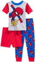 Spiderman 3-Pc. Cotton Pajama Set, Toddler Boys (2T-5T)