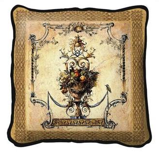 Fine Art Tapestries Summer Harvest Throw Pillow Fine Art Tapestries