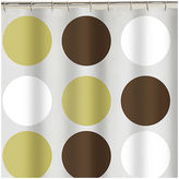 JCPenney JCP Home Collection StudioTM Big Dot PEVA Vinyl Shower Curtain