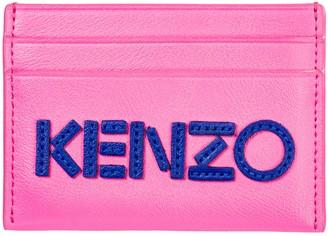 Kenzo Logo Patchwork Cardholder