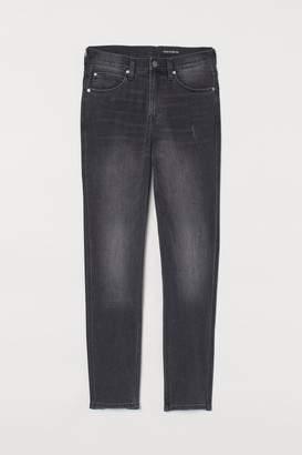 H&M Tech Stretch Slim Jeans - Gray