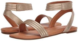 UGG Ethena (Gold) Women's Sandals