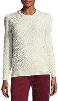 Marc Jacobs Crewneck Long-Sleeve Knit Sweater