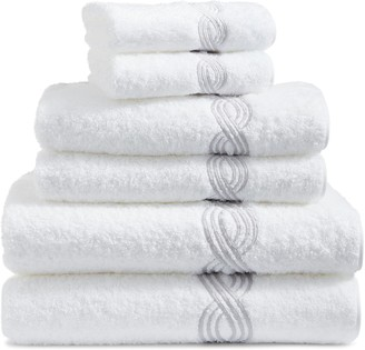 Matouk Triple Chain 6-Piece Towel Set