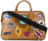 DSQUARED2 patch appliqué holdall - men - Polyester/Polyurethane/Viscose - One Size