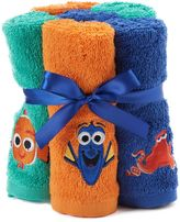 Disneyjumping beans Disney / Pixar 6-pack Finding Dory Hank, Dory & Nemo Washcloths by Jumping Beans®